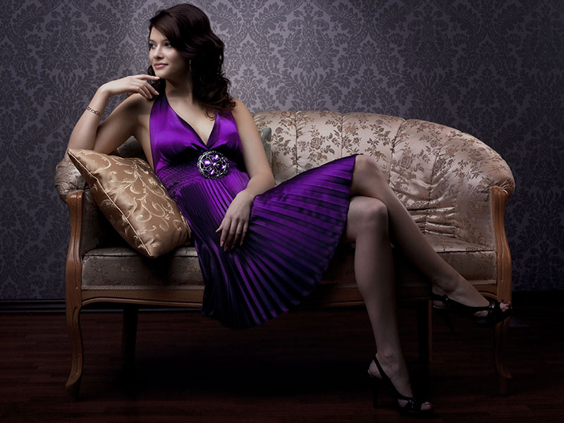 Картинки по запросу a woman in a dress
